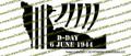 WWII D-Day Invasion Tribute Normandy, France Vinyl Die-Cut Sticker / Decal VSTDDAYI