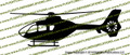 EC-135 Helicopter Vinyl Die-Cut Sticker / Decal VSPEC135