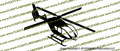 EC-135 Helicopter Action Vinyl Die-Cut Sticker / Decal VSAEC135
