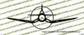 F4u Corsair Profile Vinyl Die-Cut Sticker / Decal VSFF4UP