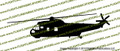 SH-3 Sea King Helicopter Vinyl Die-Cut Sticker / Decal VSHSH3