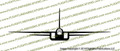 North American A-5 Vigilante Supersonic Bomber FRONT Vinyl Die-Cut Sticker / Decal VSFA5