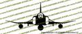 F-4 E Phantom II Front Vinyl Die-Cut Sticker / Decal VSFF4E