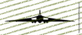 Avro Vulcan B2 Hawker Siddeley Vulcan FRONT Vinyl Die-Cut Sticker / Decal VSFAVRO