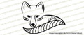 MITCH Charter School Fox Logo Vinyl Sticker Decal