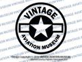 Vintage Aviation Museum Logo Vinyl Sticker/Decal VSVAM2