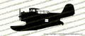 Grumman J2F Duck  Amphibious Biplane Vinyl Die-Cut Sticker / Decal VSPJ2F