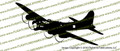 B-17G Flying Fortress Action Sticker Vinyl Die-Cut Sticker / Decal VSAB17G