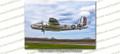 WWII B-25 Mitchell God & Country 8x12 Matte Finish Professional Photograph Doolittle Raiders Gathering of B-25's - Grimes Urbana, Ohio - Mid American Flight Museum