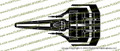 Battlestar Galactica 1978 Viper Mark I TOP Vinyl Die-Cut Sticker / Decal VSBSGM1T