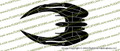 Battlestar Galactica Cylon Raider TOP Vinyl Die-Cut Sticker / Decal VSBSGCT