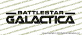 Battlestar Galactica Credits Vinyl Die-Cut Sticker / Decal VSBSG2004