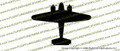 WWII Beechcraft  C-45 Expeditor Top Vinyl Die-Cut Sticker / Decal VSTC45