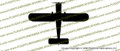 WWII Stinson L-5 Sentinel Top Vinyl Die-Cut Sticker / Decal VSTL5S
