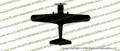 WWII Vultee BT-13 Valiant Top Vinyl Die-Cut Sticker / Decal VSTBT13