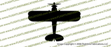 WWII Naval Aircraft Factory N3N  Training Biplane Top Vinyl Die-Cut Sticker / Decal VSTN3N