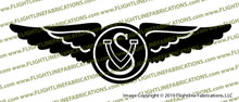 1940 Vought Sikorsky Wings F4U-1 Corsair Vinyl Die-Cut Sticker / Decal VSVSW