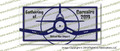Gathering of Corsairs 2019 Willow Run Airport Full Color Vinyl printed Sticker / Decal VSGC2019