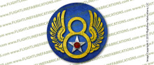 WWII U.S. Army 8th Eighth Air Force 3 INCH Circle