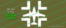 Legend Flyers Messerschmitt Me 262 Schwalbe Vinyl Die-Cut Sticker / Decal LFMET