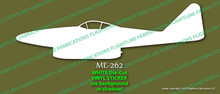 Legend Flyers Messerschmitt Me 262 Schwalbe PROFILE Vinyl Die-Cut Sticker / Decal LFMEP
