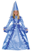 Blue Fairy Princess Costume - Gown, Hat & Belt