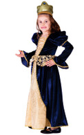 Renaissance Princess Dress Gown Costume - Dress & Headpiece
