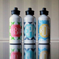Aluminum Personalized 20 oz. Water Bottle