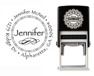 Self-Inking Personalized Address Stamp - CS3202