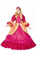 Pretty Pink Princess Dress Up Costume - Gown & Tiara