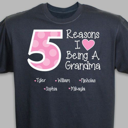 """The Reasons"" Custom Name T-Shirt"