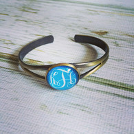 Vintage Style Monogram Bracelet