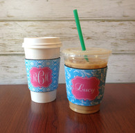 Personalized Reusable Coffee Sleeve