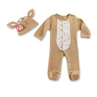 """Dear Sweet Deer"" Baby Aspen Pajama Gift Set"
