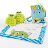 """Monster Party"" 3 Piece Baby Gift Set"