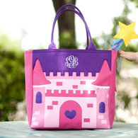 Personalized Castle Candy Tote Bag
