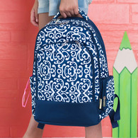 Dani Ornate School Backpack - Available Monogrammed