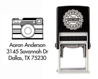 Self-Inking Personalized Address Stamp - CSA10005