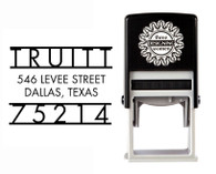 Self-Inking Personalized Address Stamp - CSA10001S