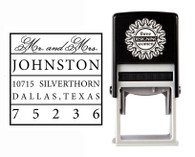 Self-Inking Personalized Address Stamp - CSA10011S