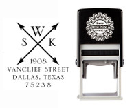 Self-Inking Personalized Address Stamp - CSA10012S