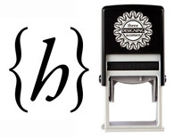 Monogram Stamp Style CSM10001S