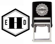 Monogram Stamp Style CSM10005S