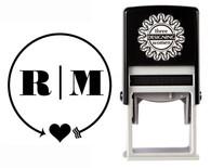 Monogram Stamp Style CSM10008S
