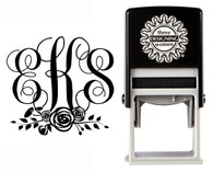 Custom Monogram Stamp CSM10014S
