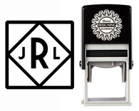Custom Monogram Stamp CSM10019S