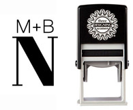 Custom Monogram Stamp CSM10020S