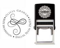 Self-Inking Personalized Address Stamp - CSA10015R