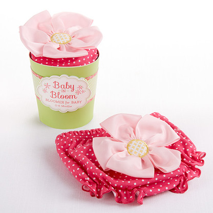 Baby in Bloom Baby Bloomer and Flower Pot Gift Packaging