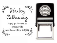 Self-Inking Personalized Address Stamp - CS3614